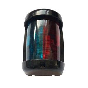 Image 4 - أحمر أخضر ثنائية اللون LED أضواء الملاحة 12 V مركبة بحرية يخت الإبحار مصباح إشارة