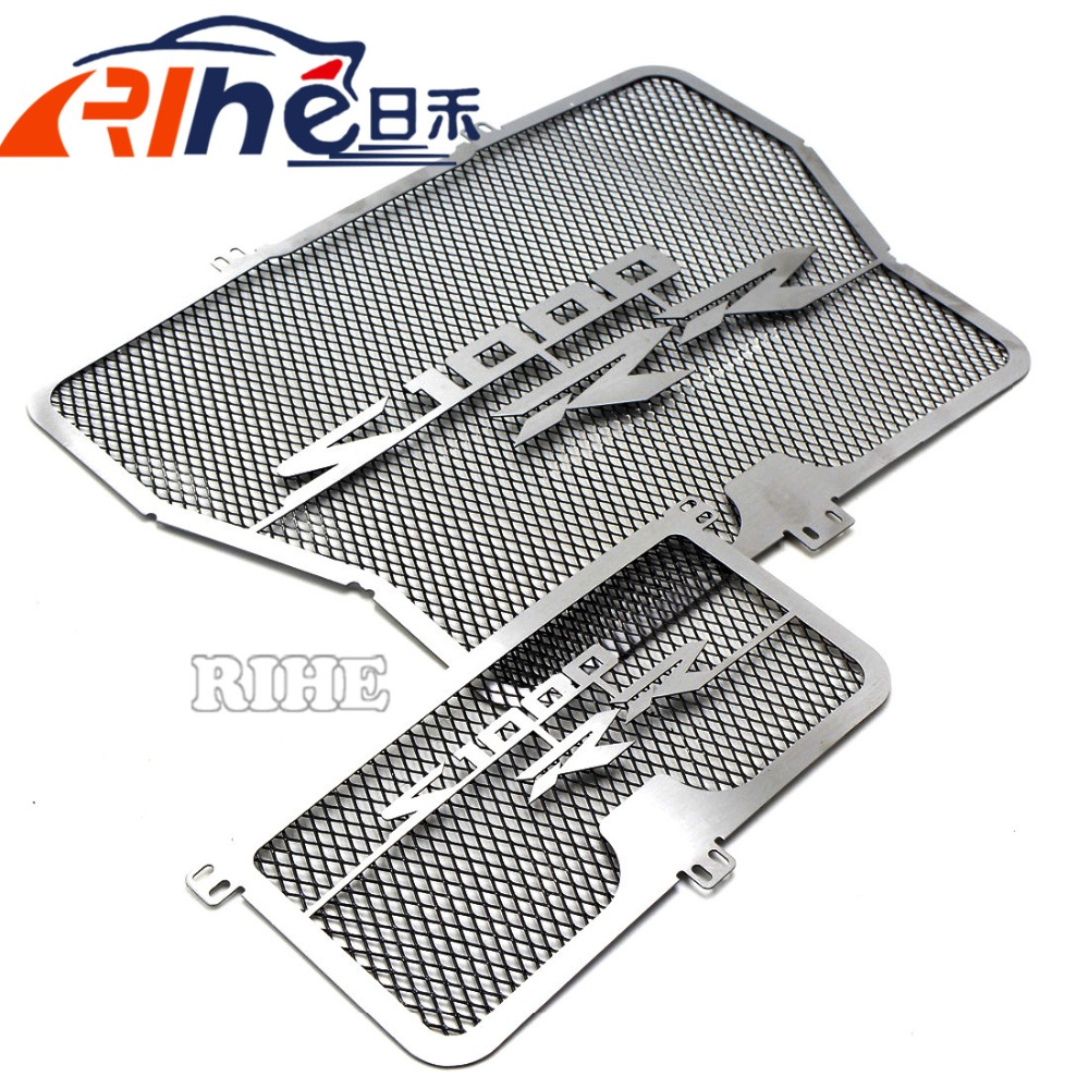 motorcycle grille guard protector stainless steel motorbike radiator cover For BMW S1000RR S1000 RR ABS K46