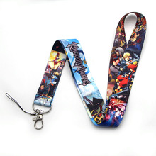 V214 Kingdom Hearts Cosplay Game Straps Lanyard ID Badge Neck Rope Chain Necklace Jewelry