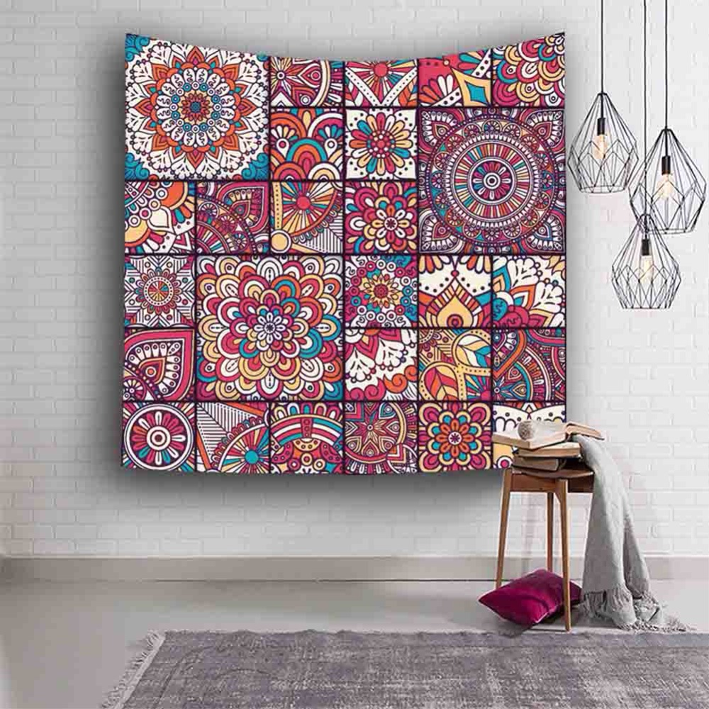 Psychedelic Magic Tapestry Celestial Visual Energy Mystic Art Print Wall Hanging For Home Bedroom Livingroom Beach Towel Blanket