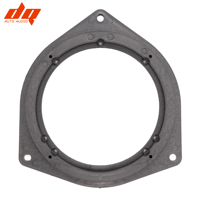 2pcs Car Speaker Mounts 6.5 Inch Adapter Nylon Washer Installation Audio Mount Ring For Toyota Corolla Crown Reiz BYD F3 Hollow