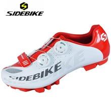 SIDEBIKE Ultraligero Biking MTB Cycling Shoes Men Bike White Zapatillas Deportivas Hombre Breathable Zapatos Ciclismo Sapatilha