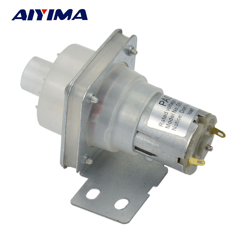AIYIMA Water Dispenser Electric Open Bottle Kettle Water Pump DC6-12V Pumping Motor Right Pumps