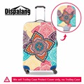 Dispalang Flower Suitcase Cover for 18 20 22 24 26 28 30 Inch Floral Skull Waterproof Luggage Cover Elastic Luggage Protective