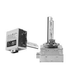 Оригинальный 35 Вт ксеноновая лампа D1S HID ксеноновая лампа 4300 K D3S ксеноновые Металл ампулы D4S D2S 6000 K 8000 K 4300 K высокого качества HID ксеноновые лампы