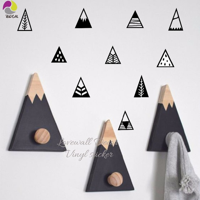 Little Mountains Wall Stickers for Kids Room
