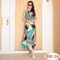 2017 Новый Летний dress Этническая Хлопок Белье платья женщин Твердые Случайные Свободные Рукавов Плюс размер