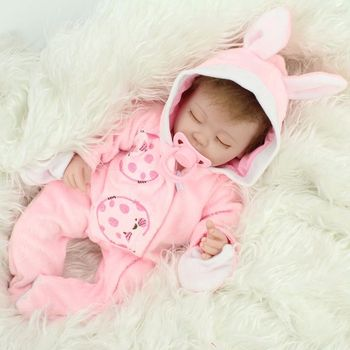 Details About 16 Inch Handmade Lifelike Baby Soft Vinyl Girl Doll Reborn Newborn Dolls With Clothes US Toys For Children hot sale 22 reborn dolls lifelike handmade vinyl baby newborn dolls with clothes girls gift bedtime early education toys