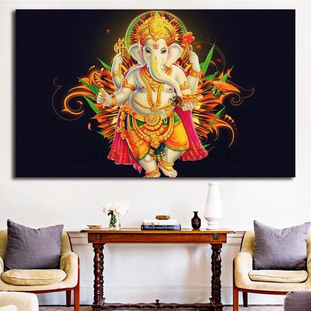 Hindu Santabanta God HD Wallpaper Wall Art Canvas Poster And Print ...