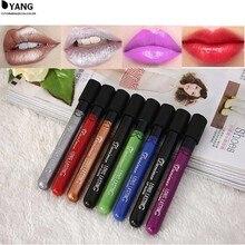 8 colors long lasting lipstick matte waterproof makeup lip stick for sexy girl Liquid Makeup Lip Gloss hot sell 009