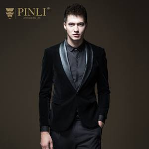 2019 Blazer Stage Costumes Pin Men's Suit Slim Single Coat