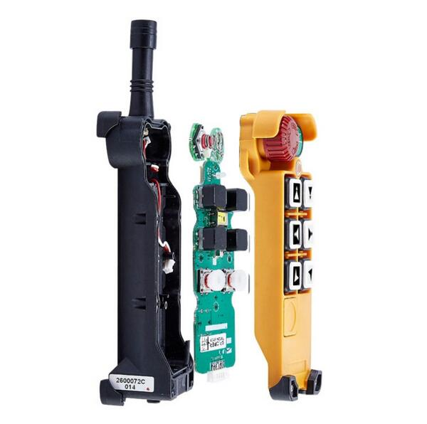 Image 4 - F26 C2 industrial remote control radio 6 channels Glass Fiber PA wireless remote control for cranes frequency VHF or UHFcontrole radiocontroller controlcontroller wireless -