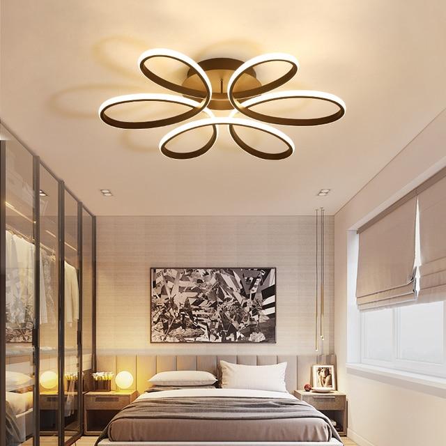 Us 1452 20 Offnowoczesny Nowy Projekt Led Lampy Sufitowe Do Salonu Sypialni Aluminium Ciała Ac85 265v Domu Oświetlenie Sufitowe Darmowa Wysyłka W