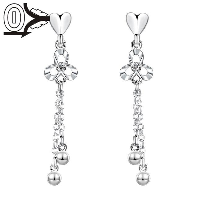 New Design Wholesale Silver Plated Earring Latest Trendy Classic
