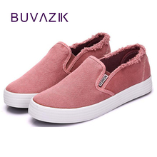 Купить с кэшбэком 2018 new fashion spring women's sneakers breathable woman canvas shoes size 39 40 high quality