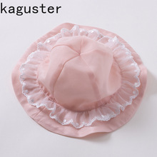 Baby Girl Hat Lace Flower Princess Toddler Hats Kids Spring  Summer Autumn Accessories Infant