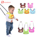 2016 Top Fashion Harness Walking Assistant Walker Safety Kids Belt Bag Infant Toddler Child Leash Backpack Cotton Mesh Sling