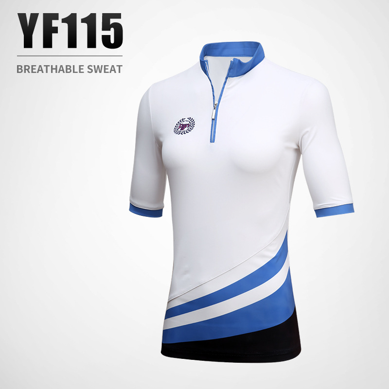 PGM golf apparel ladies summer T-shirt short sleeved blouse breathable sports suit