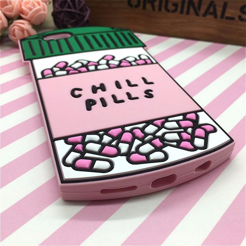 HTB1UhUlNFXXXXauapXXq6xXFXXXn - Fashion 3D Sweet Love Polion Chill Pills Rubber Soft Cute Back Cover for Apple iPhone 6 6s 4.7'' Funny Silicone Phone Case Shell PTC 232