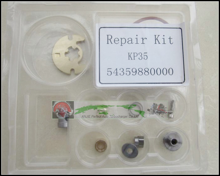 Free Ship Turbo Repair Kit For Renault Clio Kangoo Megane Scenic 1.5L DC K9K700 K9K704 KP35 54359880002 54359700002 Turbocharger