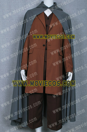 THE LORD OF THE RINGS FRODO BAGGINS COSTUME CAPE COAT M002