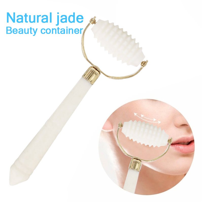 Anti Wrinkle Roller Facelift Natural Jade Anti-Aging Fashion Women SPA Beauty