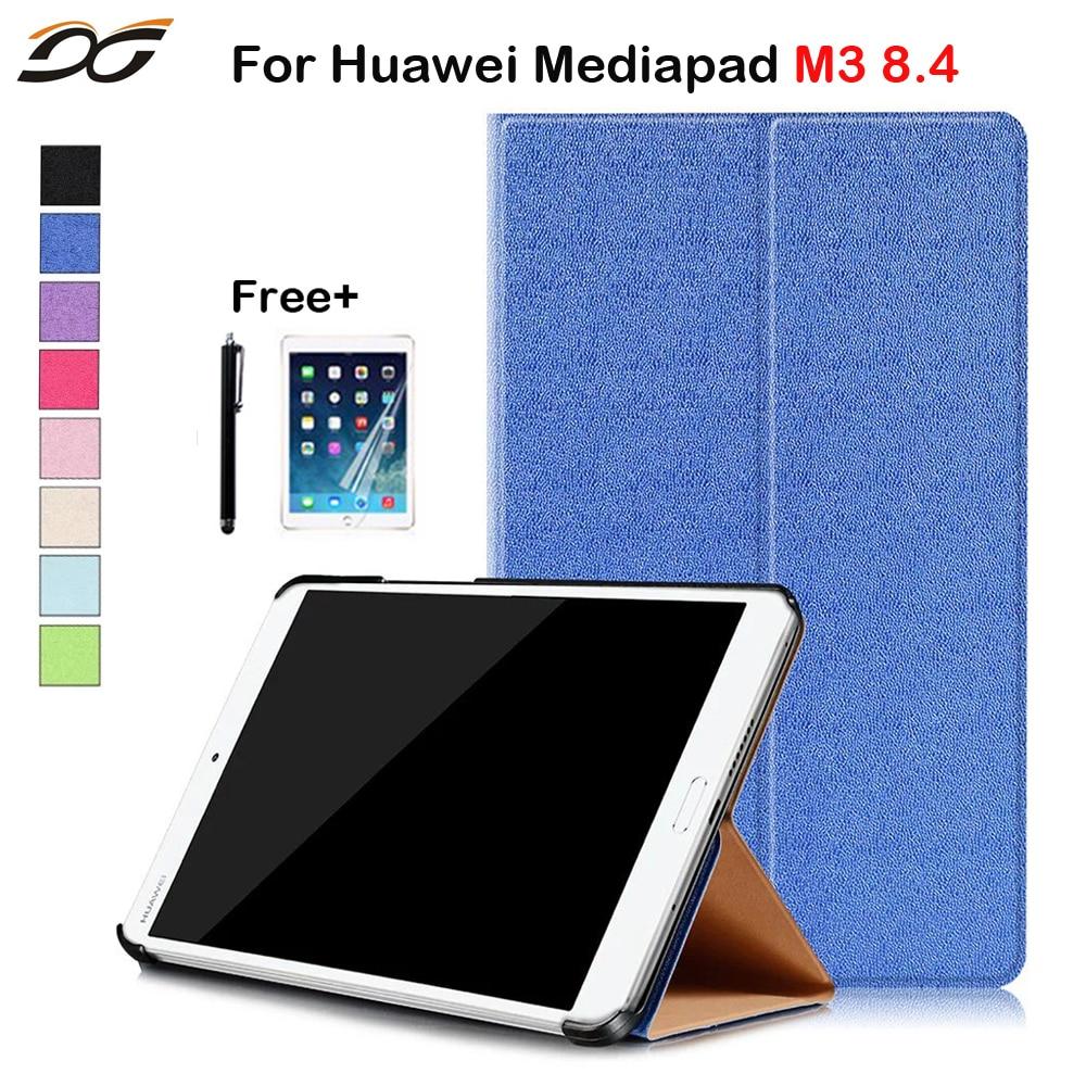 8.4 inch Tablet PC Case for Huawei MediaPad M3 8.4/ NTT docomo dtab d-03G Protective Case Cover for Huawei M3 8.4 inch mediapad m3 lite 8 0 skin ultra slim cartoon stand pu leather case cover for huawei mediapad m3 lite 8 0 cpn w09 cpn al00 8