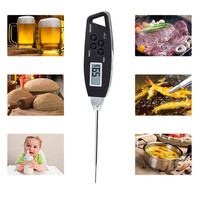 Digital Food Cooking Thermometer Instant Read Meat Thermometer For Kitchen BBQ Wholesale Free Shipping RB24