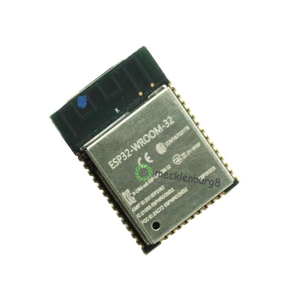 ESP32 ESP-32S WIFI Bluetooth Module 240MHz Dual Core CPU MCU Wireless Network Board ESP-WROOM-32 Base On ESP32S 2.2V-3.6V