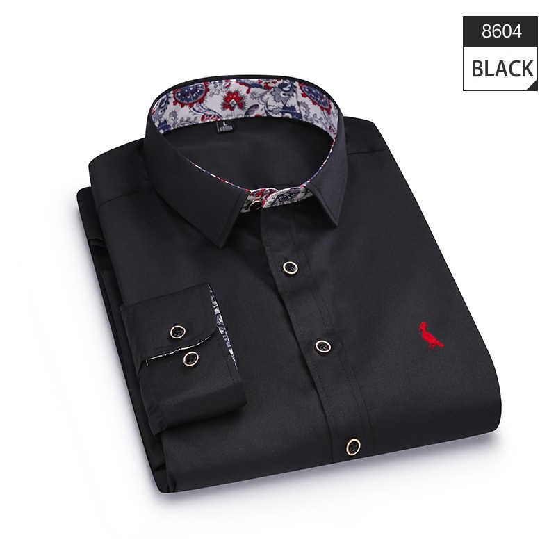 93f12f2aa3c2c27 ... 2018 защищены Dudalina новый бренд мужской рубашки aramy Модные топы с  длинными рукавами рубашка с цветочным ...