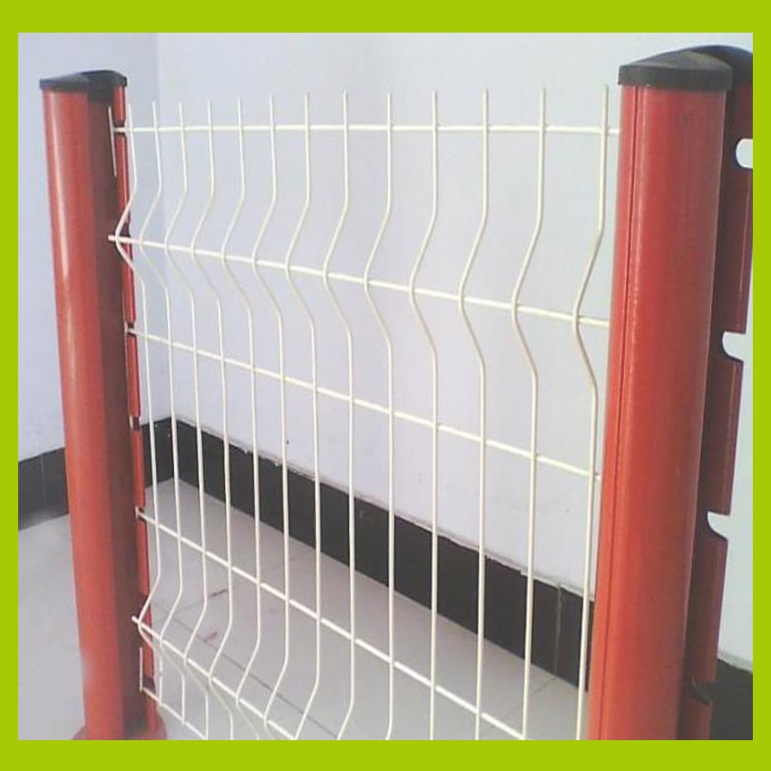 Land Field Square Wire Mesh Fence For Roadside Temporary Separation ...