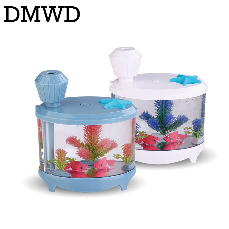 DMWD 460ML USB Ultrasonic Humidifier LED Night Light Air Essential Oil Aromatherapy Diffuser Fogger Mist Maker timer Atomizer dmwd electric ultrasonic humidifier essential oil diffuser lamp aromatherapy mist maker fogger air purifier led night light 24v