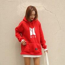 Kpop BTS Fleece Hooded Sweatshirt