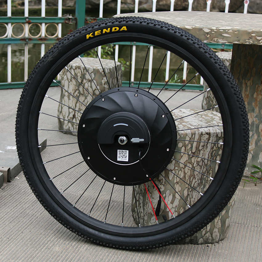 36V240W Front Hub Motor Ebike Covnersion Kit 24 26 700C Wheel Motor Set Electro Wheel for Electric Bicycle Bicycle Engine Kit