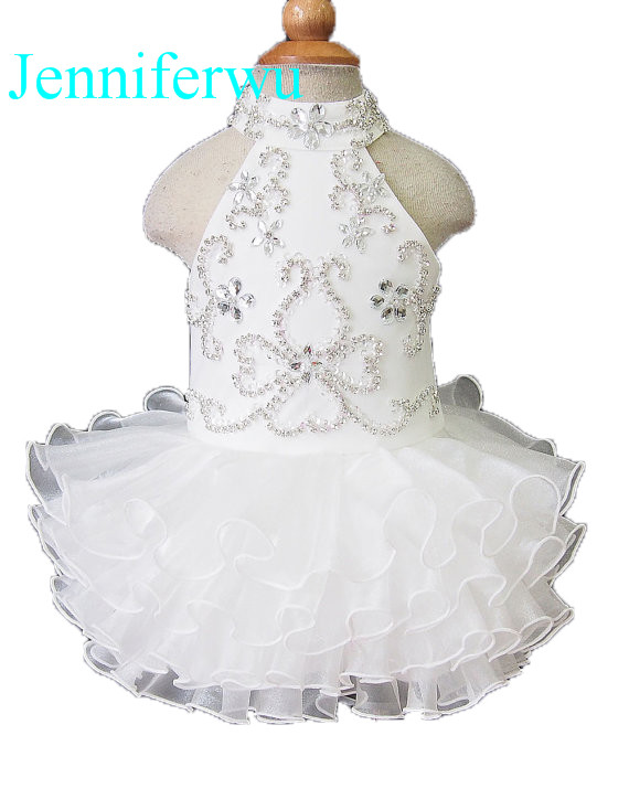 цена stone beaded  infant and toddler girl formal dress 1T-6T G094 онлайн в 2017 году