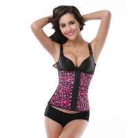 Trainer Corsets Rubber Latex Sexy Shapers Tummy Control Belts Workout Body Shaper Women Tops Slimming Girdles