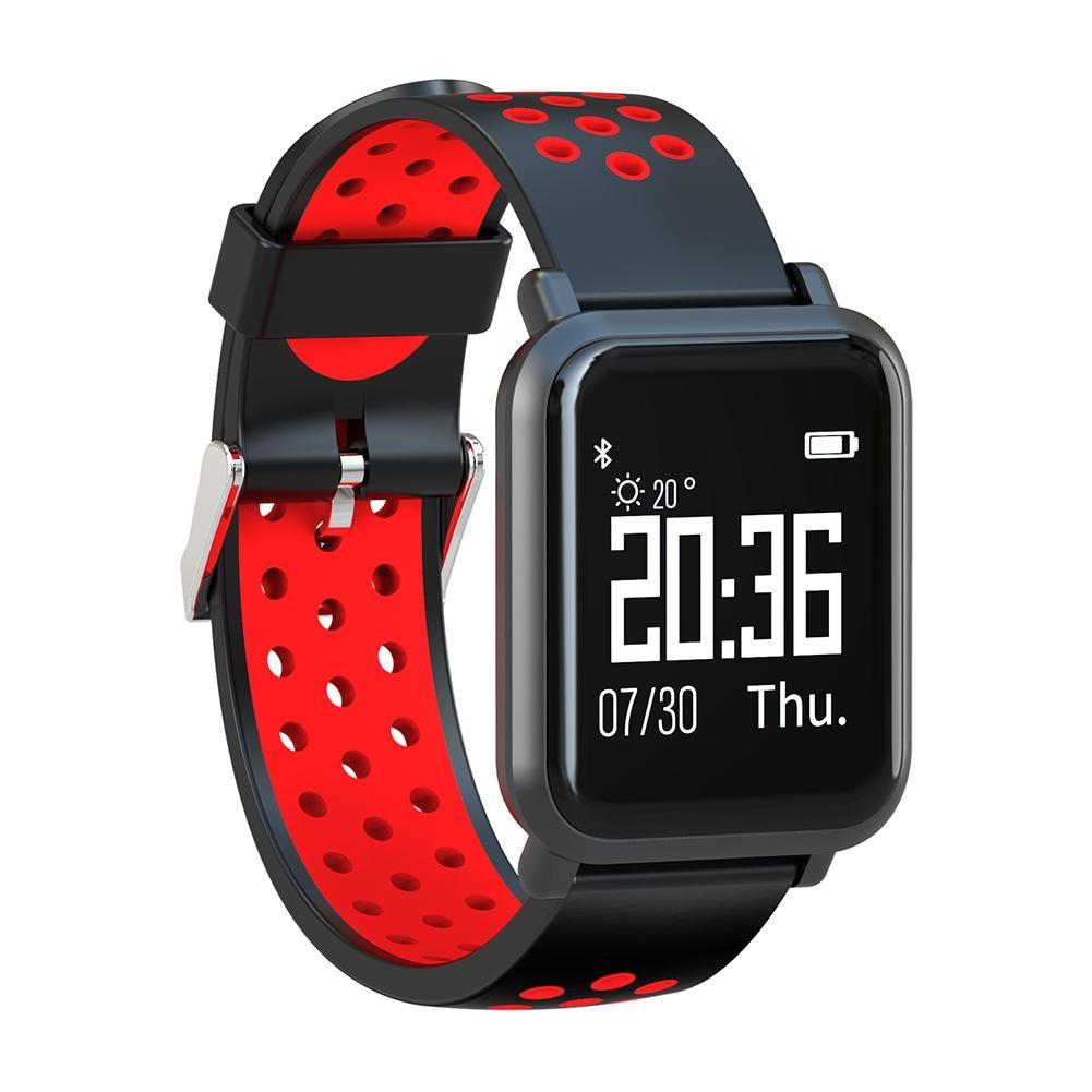 SN60 Smart Watch Bracelet LCD Display Bluetooth Sports Step Counter Sleep Monitor Waterproof 50m 5ATM IP68 Sports Watch