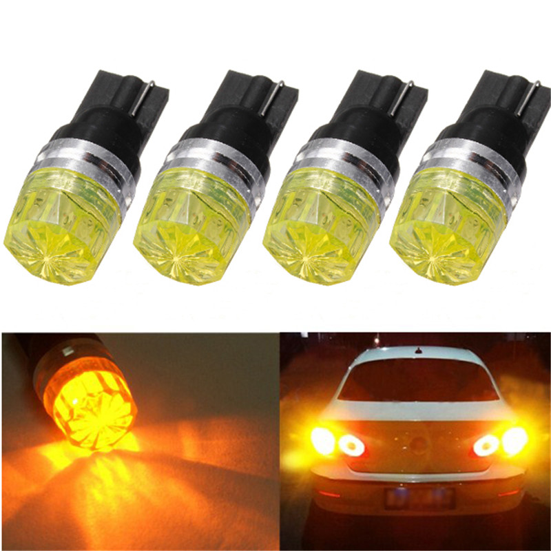 4pcs T10 168 194 501 High Power LED Auto Car W5W Wedge Side Tail Turn Signal Lights Brak ...