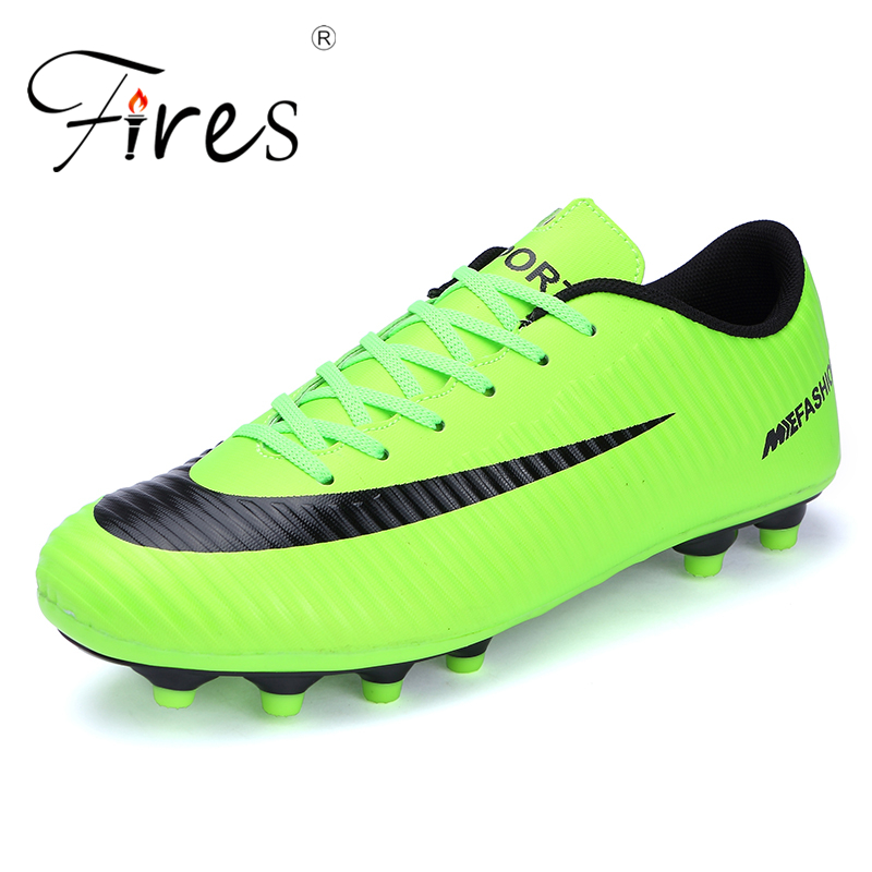 ed062a5b85d Detail Feedback Questions about Fires Nails Cleats Soccer Shoes Football  Sneaker 2018 New Turf Futsal for Men Indoor Football Boots Professional TF  Soccer ...