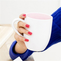 Couple Japanese Ceramic Coffee Mugs Cup Tea Xicara Home Caneca Bardak Big Copo Tumbler Brief Porcelain Mugs Cup Stocked QQB1001