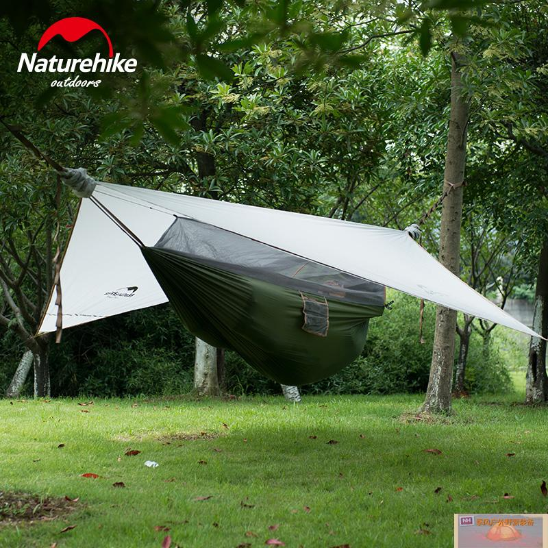 NH outdoor  portaledge portable off ground bed Tent Camping single hammock with mosquito net