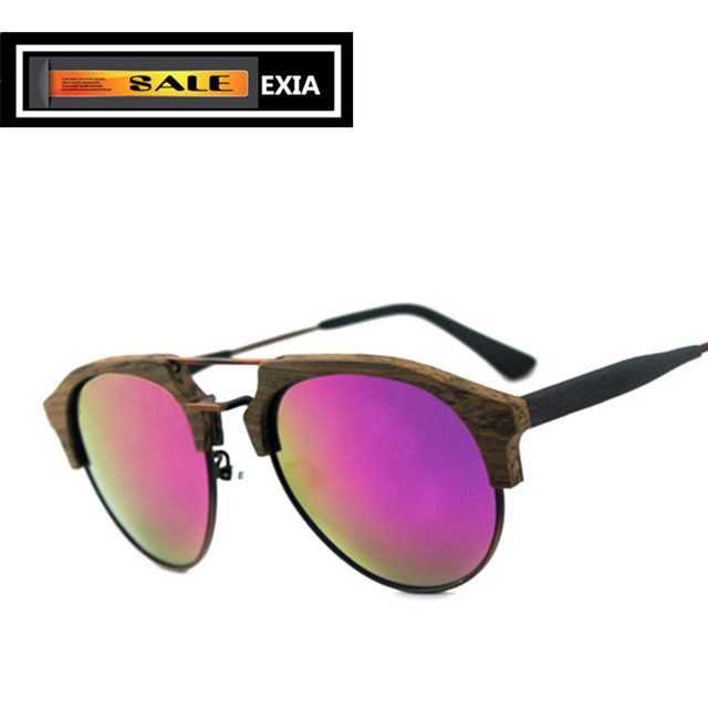 3cabcf7c998 Sunglasses Acetate Optical Frame with RX Ophthalmic Lenses Polarized CR-39 EXIA  OPTICAL KD-22 Series