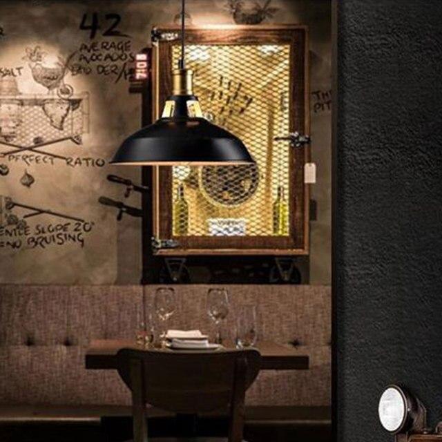 Super Parc de Bar de salon de lustre de dôme de fer de Style industriel YN-43