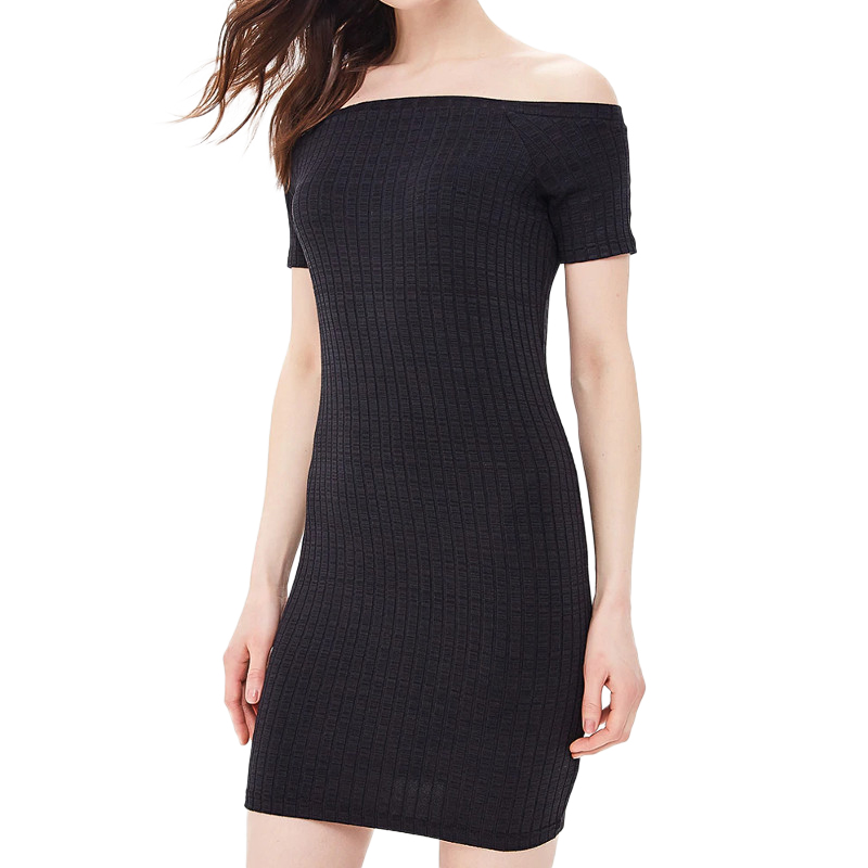 Dresses MODIS M181W00725 women dress cotton  clothes apparel casual for female TmallFS summer dresses dress befree for female half sleeve women clothes apparel casual spring 1811554599 50 tmallfs