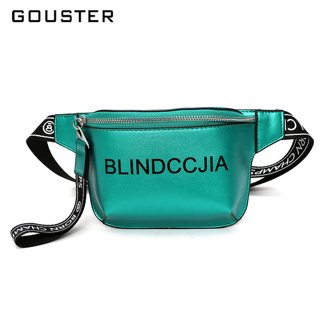 2018 Hot sale Waist bag Women Trend fanny pack PU Leather Fashion Beach Female Shoulder belt bag Chest pack Hands free Crossbady