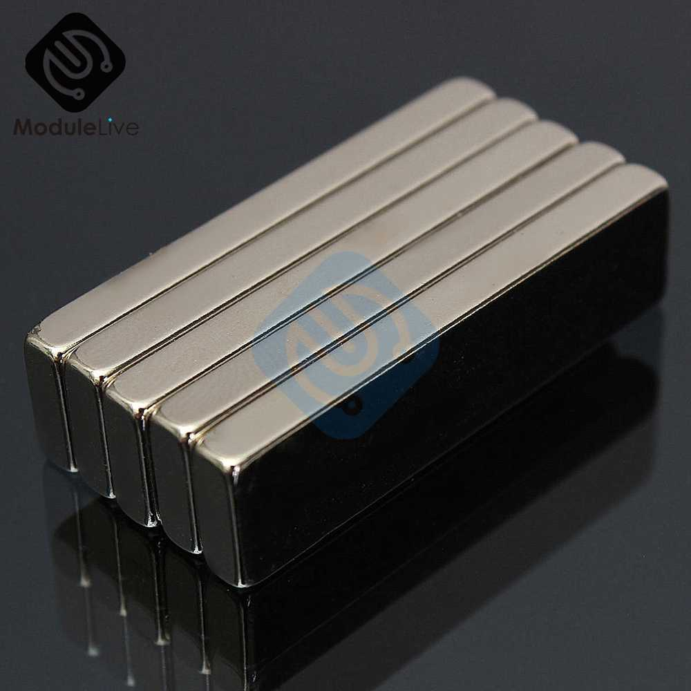 N52 Neodymium Magnet 40x10x4mm Permanent NdFeB Small Tiny Mini Super Powerful Strongest  Magnetic  rectangle Magnet