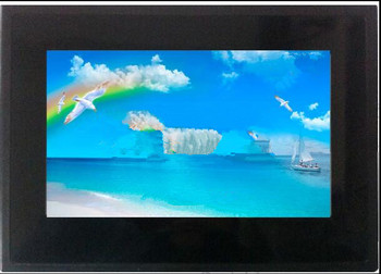 DMT80480C070_16WT 7 inch DGUS serial screen touch screen human interface HMI with a shell