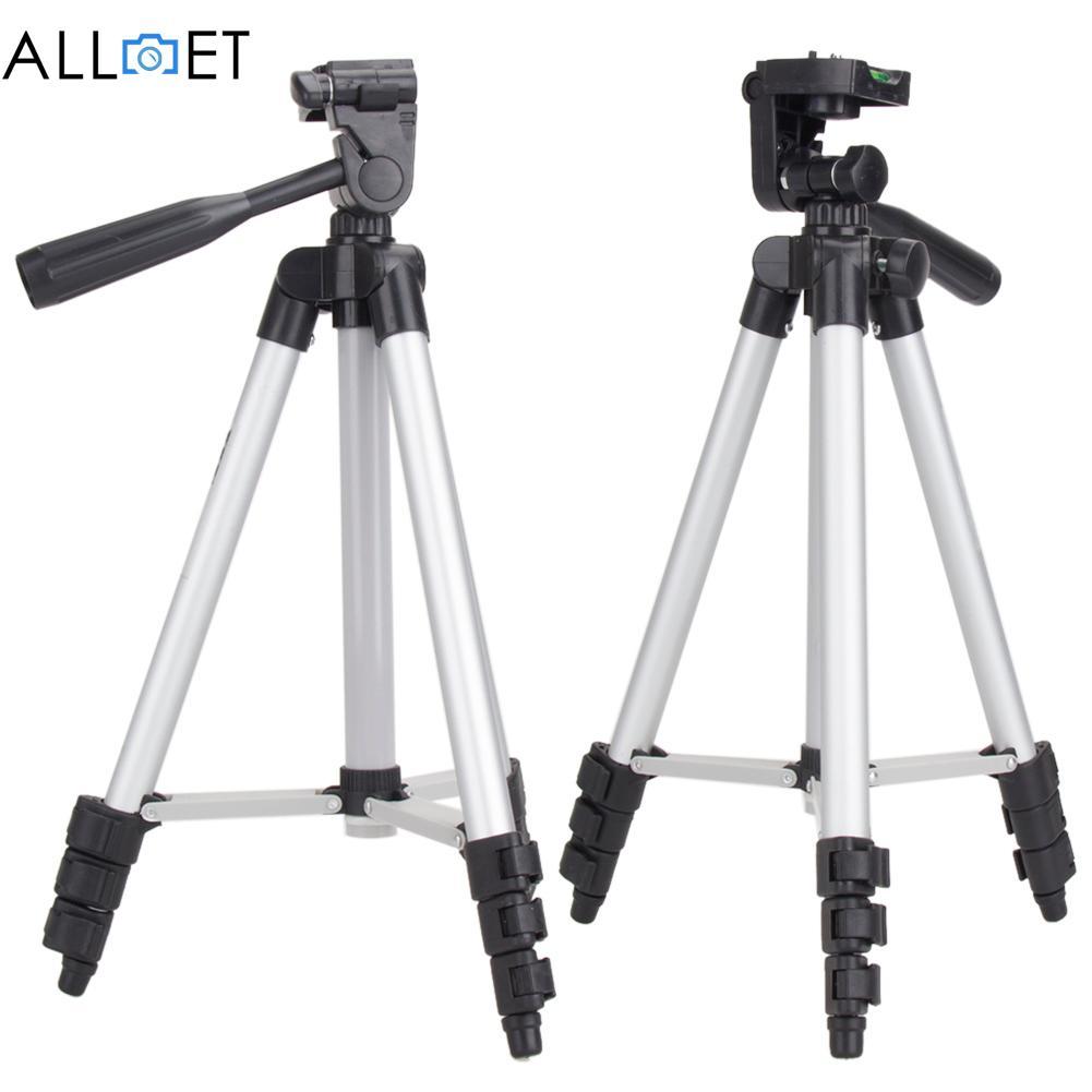 1pcs Professional Camera Tripod Stand for Canon EOS Rebel T2i T3i T4i for Nikon D7100 D90 D3100 DSLR Camera Tripods