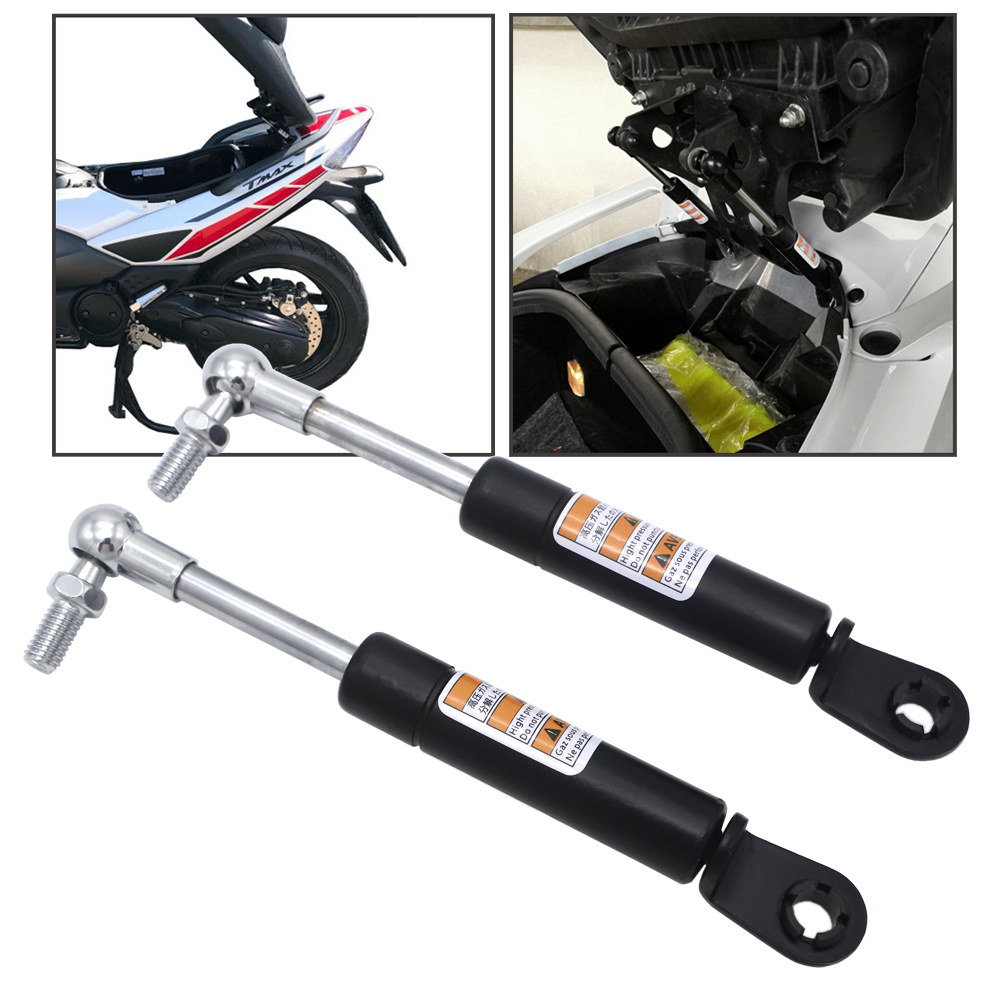 2 Pcs Struts Arms Lift Supports For Yamaha <font><b>T</b></font> <font><b>MAX</b></font> TMAX 500 2008 - 2018 <font><b>T</b></font> <font><b>MAX</b></font> TMAX <font><b>530</b></font> 2012 2013 2014 <font><b>2015</b></font> 2016 2017 2018 2019 image
