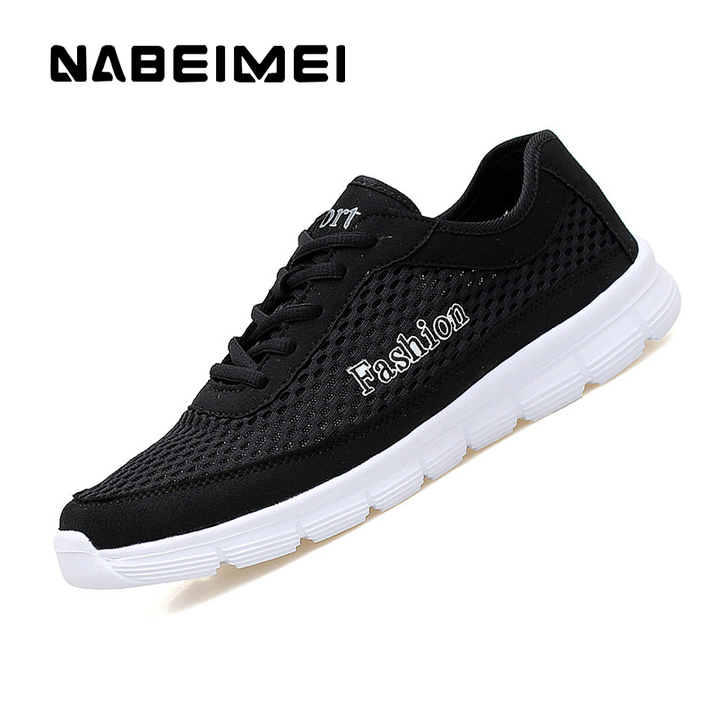 Casual shoes men breathable light air mesh lace-Up Eva spring/autumn fashion superstar men's shoes tenis masculino esportivo 2016 superstar famous designer mixed color air mesh wedges men casual shoes fashion walking outdoor breathable lace up men shoes